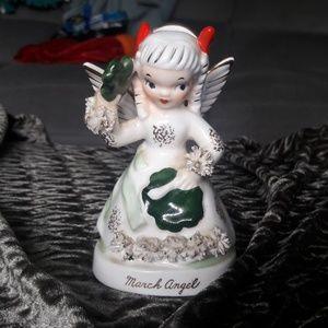 Vintage March Angel figurine